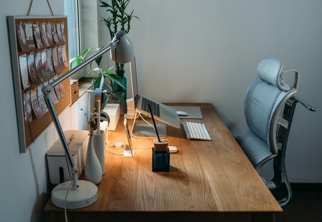 office fit out with ergonomic chair in lismore