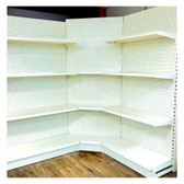 Gondola Corner 1.5 High Shelving Range - From $200.00