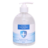 500ml Hand Sanitiser with Pump