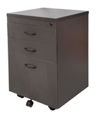 Ironstone 3 Drawer Pedestal