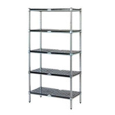 Zinc Lacquered 1200 High 3 Tier Real Tuff Shelving Range - From $214.52