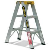 Gorilla Aluminium Double Sided A-Frame Ladder Range - From $93.00