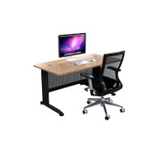 cSPACE Desk With Radius Corners & Modesty Panels Range - From $299.00
