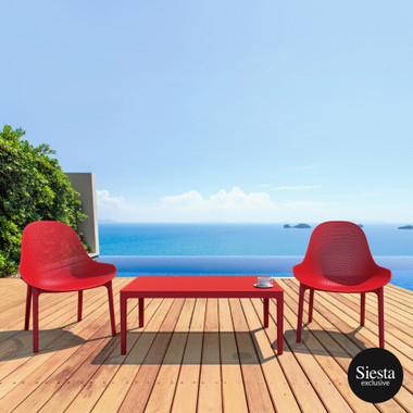 Sky Outdoor Comfort Lounge 3 Piece Set