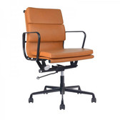PLOW Tan Thick Pad Board Room Chair