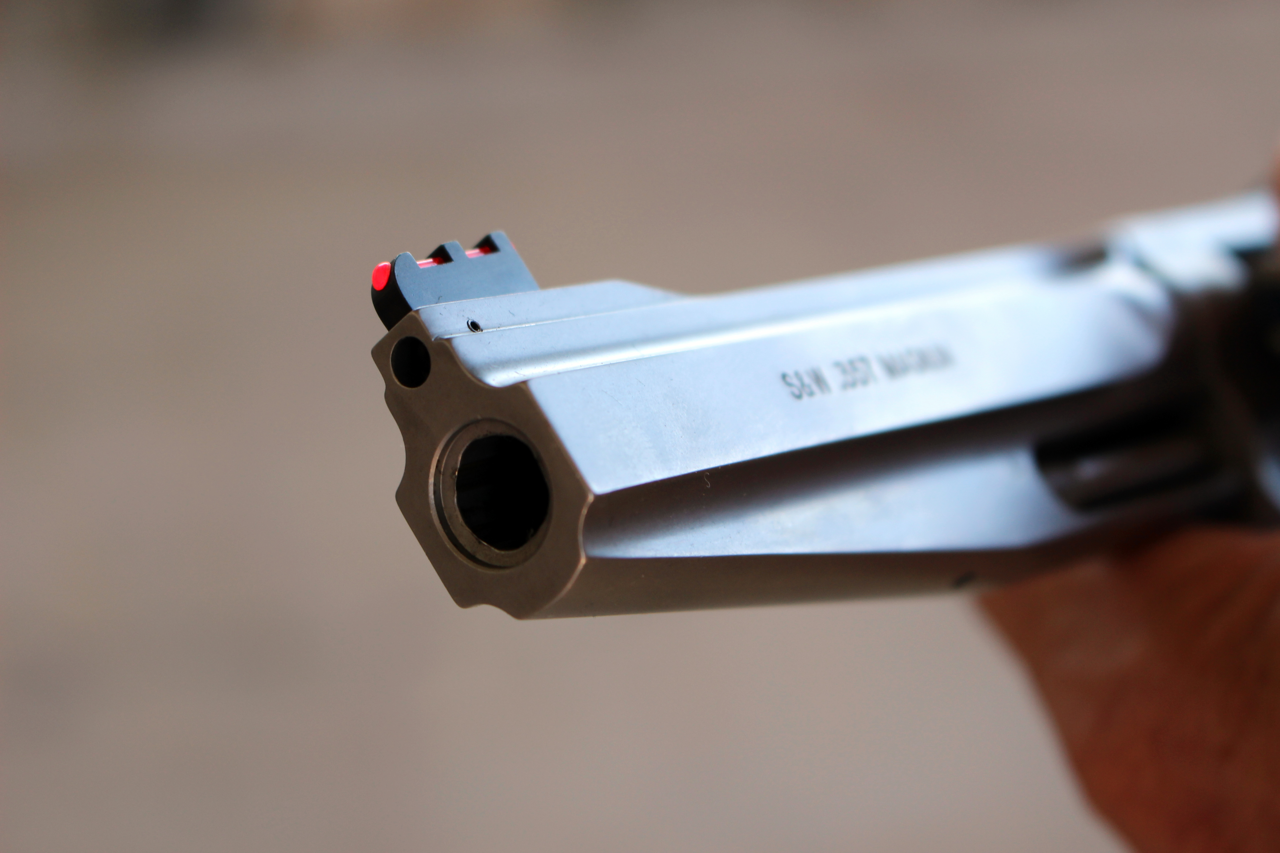 Replacing front sights on S&W revolvers (Can I install a new