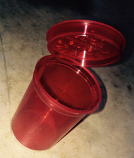 Red storage container designed for moon clips and moon clip checkers. Pkg of 3.
