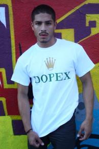 DOPEX WHITE T-SHIRT