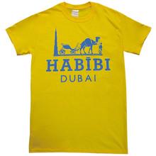 HABIBI DUBAI YELLOW & BLUE T-SHIRT
