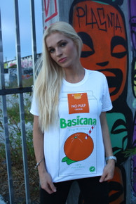 BASICANA WHITE T-SHIRT