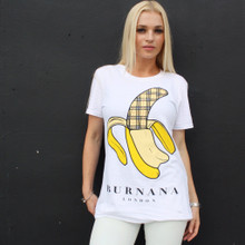 BURNANA WHITE T-SHIRT