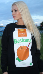 BASICANA BLACK SWEATER