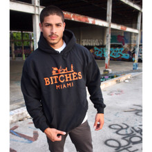 BITCHES MIAMI BLACK HOODIE