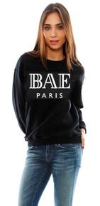 BAE PARIS BLACK SWEATER