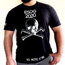 "EsoG  ""Intro"" Black & White T-Shirt"