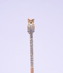 Burrowing Owl Hand Made Pencil