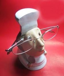 Female Chef Eyeglass Multipurpose Holder
