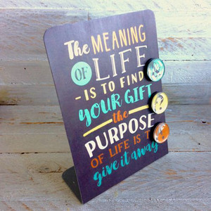 The Meaning of Life Magnet Board