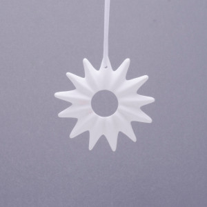 Sunburst Fine Bone Ornament
