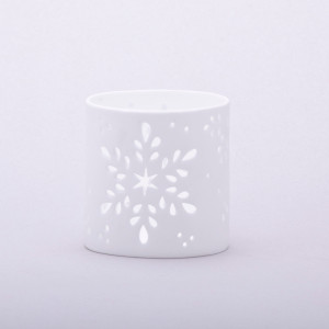 Immaculate Fine Bone Candle Holder