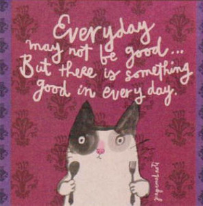 EVERYDAY CAT POSTCARD