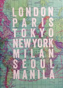 London Paris Tokyo Notebook
