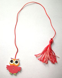 Dotted Owl Bookmark