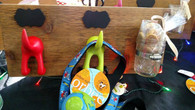 Double Leash and Treat Holder - Dogs