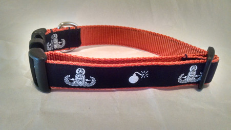 Orange EOD Collar