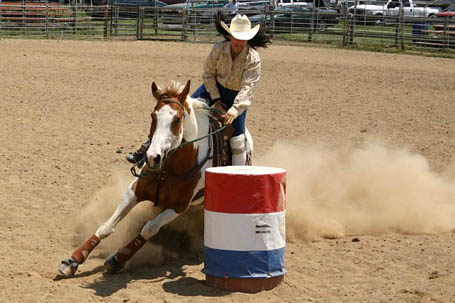 Barrel Racing Saddleupcolorado