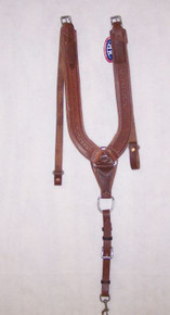 HR Saddlery Barbed Wire Pulling Collar
