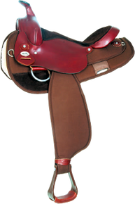 NEW FABTRON GAITED TRAIL SADDLE 714 (714)