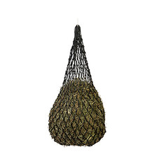 Slow Feed Hay Net by Weaver - Black