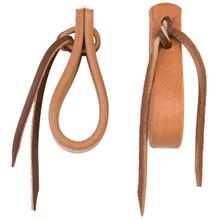 "Water Tie Ends with Brown Latigo Ties, 5/8"" by Weaver"