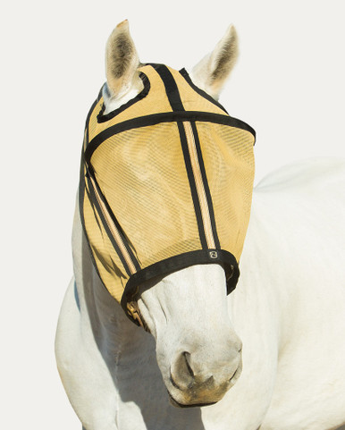 Noble Gold GUARDSMAN™ FLY MASK WITHOUT EARS (75000)