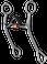 "Junior Cutter - _"" Sweet Iron Medium Port with Copper Roller by Reinsman"