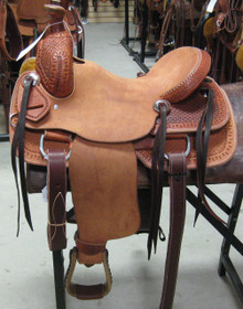 "13"" NEW CASHEL WESTERN YOUTH ROPING SADDLE SACKRO-13"