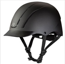 Weaver Troxel Spirit Riding Helmet Black Duratec