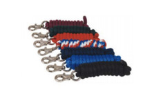 AHE Poly Lead Rope - 5/8 in. Nickel Plated Buffalo Snap - Two Toned