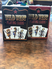 Austin Accents Old West Playing Cards 4420