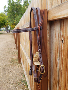 Jerry Beagley Hot Oil Delux Headstall W/ Browband 013DL