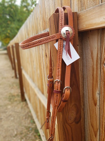 HR Saddlery Barbed Wire Headstall 5011-BW-01
