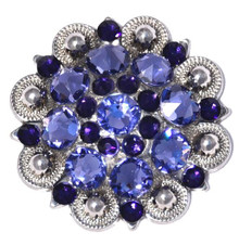 AHE Crystal Concho Tanzanite Purple Crystal