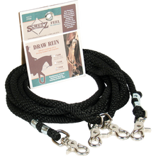 Schutz Brothers Soft Poly Rope Draw Reins