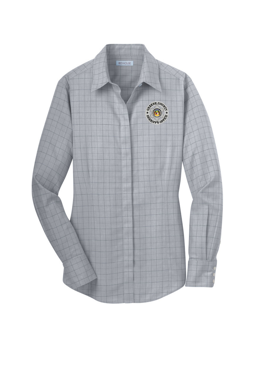 Gcso Dove Grey No Iron Button Down Shirt Crackerjack Shack