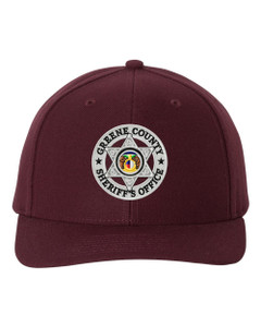 GCSO Embroidered Badge Pro Quality Cap - Maroon