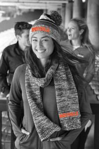 Brentsville EMBROIDERED CHUNKY Beanie & Scarf GIFT SET