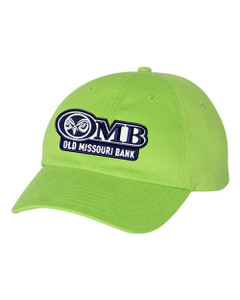 OMB Unstructured Cap - 5 Colors Available!