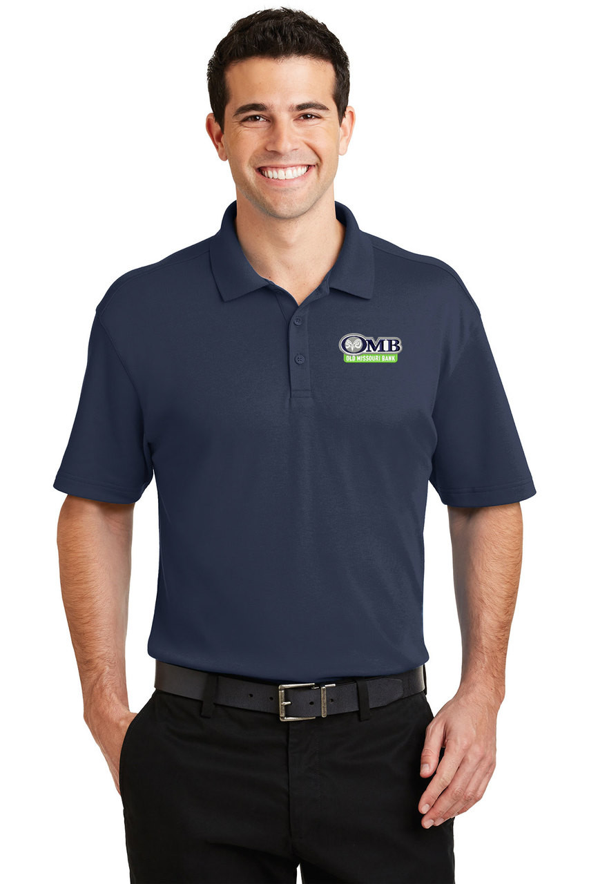 29755996d ... Port Authority Smooth Interlock Blended Polo - NEW! Loading zoom