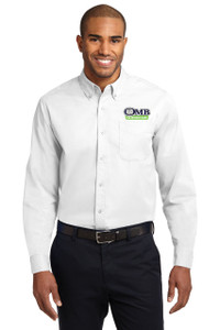 OMB Port Authority Long Sleeve Easy Care Dress Shirt